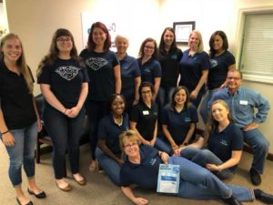 VSC Team in Jeans for Denim Day
