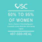 PTSD Awareness Stat with Crisis Helpline 407-500-HEAL