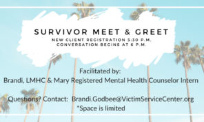 Survivor Meet & Greet Event Details