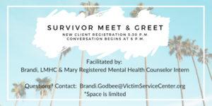 Survivor Meet & Greet Event Details